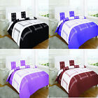 NEW Campus Mono Duvet Set Quilt Bed cover Bedding single double king black white