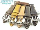 22mm Italy Genuina Leather Watch Strap Vintage Classic wristband multicolored