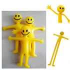 Fun Stretchy Men Smiley Party Bag Filler Kids Hand Out Stretch Man Toy 6 12 24