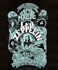 Led Zeppelin Electric Magic Poster Logo heavy metal rock T-Shirt M NWT
