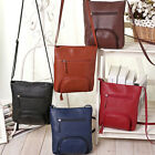 Womens Lady Leather Satchel Shoulder Messenger Bag Cross Body Handbag Lucky