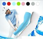 1pair Cooling Athletic Sport Skins Arm Sleeves Sun Protective UV Cover Golf Skin
