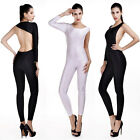 Women Sexy Jumpsuits Backless Bodycon Bandage Slim Tight Waist Exposed Clubwear