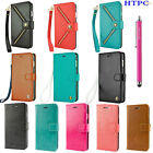 For Apple iPhone 6 4.7 / iPhone 6S Plus 5.5 Leather Wallet Flip Case Stand Cover