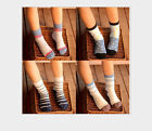 5 pairs / Spring color of the five-pointed star boys and girls cotton socks