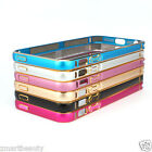 Ultra thin Aluminum Metal Bumper Frame Case Cover For iPhone 5 5S M