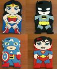 For iPhone 5 / 5S - Soft Silicone Rubber Cover Skin Case Super Heroes Accessory