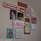 Illuminated Led Canvas/Picture/Night Light Assorted Designs for Kids Bedroom