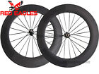 Free shipping 88mm Tubular carbon bike road wheels Novatec A271SB/F372SB hub