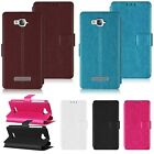 Flip Leather Wallet Pouch Case Cover Stand for Alcatel One Touch POP C1 C3 C7 C9