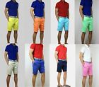 New Polo Ralph Lauren Men CLASSIC-FIT PIMA CHINO SHORTS Ultra Soft All Sizes