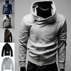 UK SHIP~ Men's Casual Jackets Sweatshirt Jacket Coat Hoodie Overcoats S L  XL
