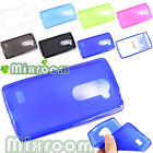 CUSTODIA COVER CASE MORBIDA IN SILICONE SEMITRASPARENTE GEL PER LG LEON H340
