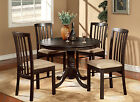 Hartland 3 Pieces small kitchen table and chairs set-Round Table and 2 Chairs