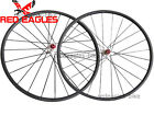 Disc brake Cyclocross 24mm Tubular carbon wheelset thru axle hub D771SB/D772SB