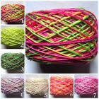 Внешний вид - odds and ends 100 yards  crochet thread  size 10 hand dyed