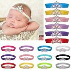 Girl Newborn Baby Infant Princess Pearl Crown Headband Hair Bow Band Photo Props