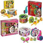 DISNEY DRUM KIT MARACAS SAXOPHONE CASTANETS MUSICAL TOY BAND INSTRUMENT PLAY SET
