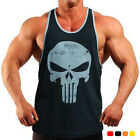 Skull Bodybuilding Tank top for mens gym tanks workout muscle shirt stringer