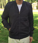 NEW Marc Jacobs Mens Washed Ink Blue Grey Satin Jacket XXS XS S M L XL $398