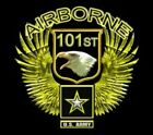 U.S. Army 101st Airborne Eagle Wings Wall Window Vinyl Decal Sticker Military