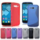Soft TPU Silicone Gel Back Case Cover Skin For Alcatel One Touch Pop C1 C9 C3 C7