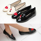 2scd08104 lipstick enamel slip-on flat loafer Made in korea upto US9