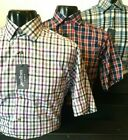 Tom Hagan Short Sleeve Check Shirt With Pocket Collar Polycotton  M L Xl Xxl