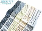 24mm Stainless Steel wristband watch bracelet Brushed Polishing New multicolored