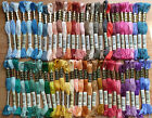 DMC Stranded Cotton Thread Shades 3753 - 3839; £0.99 per skein 30% off for 2+