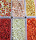 80g -120g - 160g or 200g  BAG ASSORTED MIXED ORANGE AND YELLOW  BUTTONS