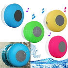 Waterproof Wireless Bluetooth Handsfree Car Mic Suction Bathroom Shower Speaker
