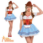 Adult Oktoberfest Girl Costume Sexy Bavarian Fancy Dress Ladies Beer Outfit