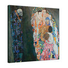GUSTAV KLIMT DEATH AND LIFE PAINTING PRINTED ON FRAMED CANVAS WALL ART PICTURES
