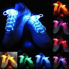 2016 Hot sale Light-Up LED Flash Waterproof Glow Shoelaces Strings Party Disco