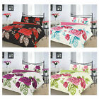 New Duvet Cover with Pillow Case Quilt Cover Issabelle Bedding Set All UK Sizes