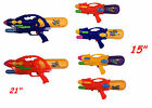 Kids Children Large Water Gun Pistol Toy Dual Action Soaker Blaster