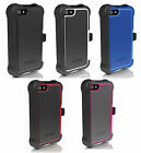 Ballistic SG Tough Jacket Maxx Series Case W/Belt Holster For iPhone 5 / 5S