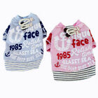 Внешний вид - Winter Dog Warm Sweater Letter Print Clothes Puppy Cat Casual Jacket Pet Costume