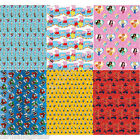 Wrapping Gift Paper Roll Wrap TV & Film Characters Presents Happy Birthday 4m