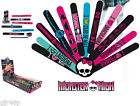 MONSTER HIGH Girls Bracelets Snap On Silicone Fashion Accessories 12 To Collect