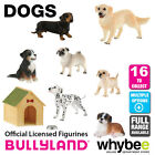 Genuine Bullyland Dogs Collection Plastic Figurines Figures Full Range Available
