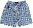 "PIERRE CARDIN ""Swimwear"" mens surf board shorts swim trunks (navy/white) NEW"