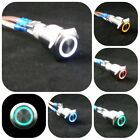 LED Knopf Power Switch Motorsport 16 mm Tuning Taster Tastend Push Button WOW