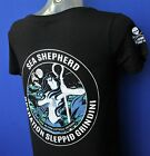 Ladies  Sea Shepherd Operation Sleppid Grindini   t-shirt