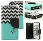Luxury Genuine Real Leather Flip Stand Wallet Case Cover For Apple iPhone 5 5S