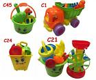 Childrens Kids Sand Bucket Dump Truck Tools Set Beach Sandpit Holiday Toy Mould