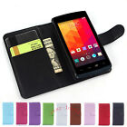 Luxury Best Flip Magnetic Card Wallet PU Leather Case Stand Cover For LG JOY-New