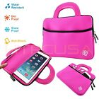 "KOZMICC Hot Pink 8.9"" and 9"" Inch Tablet Soft Bag w/ Handle Case Sleeve Cover"