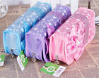Butterfly Pencil Pen Case Box Cosmetic Pouch Pocket Brush Holder Makeup Bag